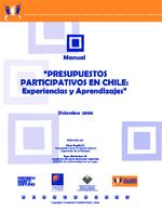 """Manual """"Presupuestos participativos en Chile: Experiencias y aprendizajes"""""""