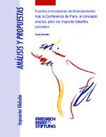 Fuentes innovadoras de financiamiento tras la Conferencia de Paris