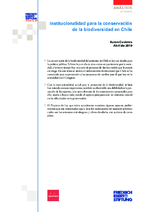 Institucionalidad para la conservación de la biodiversidad en Chile