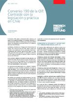 Convenio 190 de la OIT: contraste con la legislación y práctica en Chile