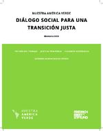 Diálogo social para una transición justa